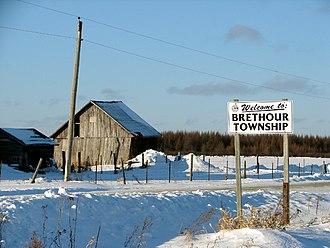 Brethour, Ontario - Image: Brethour ON