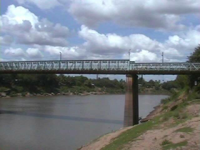 Bridge over the Manimuktha River in Veerasolapuram