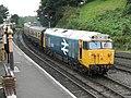 Bridgnorth - 50031 arriving with GWR coaches.jpg