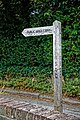 Bridleway to Sedgwick fingerpost at Nuthurst, West Sussex.jpg