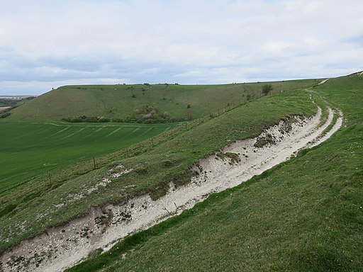 Bridleway up White Sheet Hill (geograph 5378146)