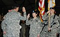 Brig. Gen. Colleen McGuire takes oath of office in Washington DC in 2010.jpg