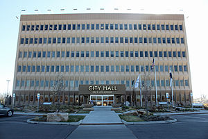 Brighton, Colorado - Brighton City Hall.