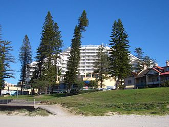 Brighton-Le-Sands, New South Wales - Novotel Hotel.