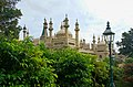 Brighton - View South on Royal Pavilion 1823 John Nash.jpg