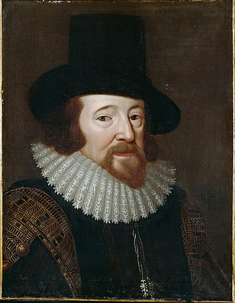 Francis Bacon argued the case for what would become modern science which would be based more upon real experience and experimentation, free from assumptions about metaphysics, and aimed at increasing control of nature. He named Machiavelli as a predecessor. British - Francis Bacon - Google Art Project.jpg