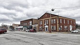 Hamilton, Illinois - Broadway Street in Hamilton