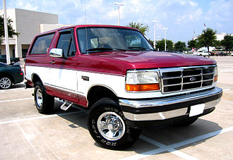 Ford Bronco - Two-Tone Bronco