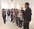 Bronx curator LeRonn P. Brooks lecture jeh.JPG