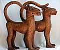Bronze Leopards from Benin - Nigeria (25898390763).jpg