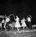 Bruiloft in de kibboets Yad Mordechai bij Asjkelon in het zuidwesten van Israel., Bestanddeelnr 255-4198.jpg