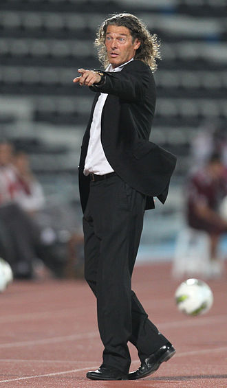 Qatar national football team -  The late Bruno Metsu, former manager of Qatar.