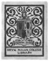 Bryn Mawr College bookplate.png