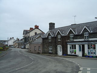 Bryncrug Human settlement in Wales