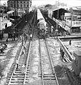 Buenos Aires. Vías del ferrocarril General San Martín, en las calles Córdoba y Juan B Justo, 1969.jpg