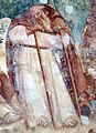 Buffalmacco, trionfo della morte, eremiti 13 eremita.jpg