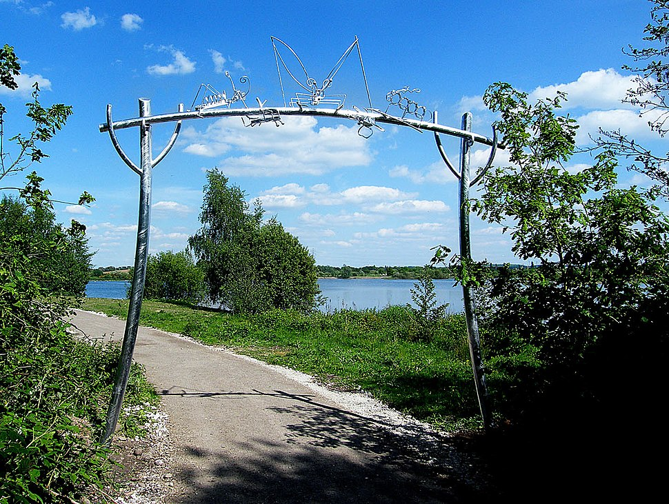 Bug Arch at Idle Valley Nature Reserve