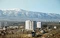 Bulgarien um 1970 Sofia, Sofioter Ebene und Witoscha im Hintergrund 2.jpg