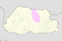 Bumthang Bhutan location map.png