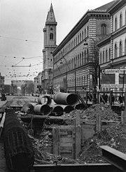 Bundesarchiv B 145 Bild-F023987-0007, München, Bau der Untergrundbahn