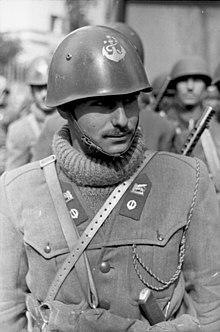 Marzo 1944  Marò del 3º reggimento San Marco. bbc04e996268