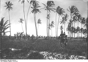 Battle of Tanga - Askari skirmish, 1914, possibly Tanga