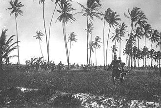 Battle of Tanga - Askari skirmish, 1914, possibly Tanga