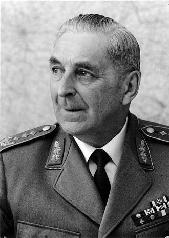 Inspector General of the Bundeswehr - Image: Bundesarchiv Bild 146 2005 0031, Friedrich Foertsch