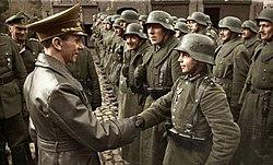 Hopp til. Krig er væpnet konflikt mellom to eller flere parter, for eksempel mellom stater.