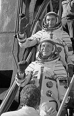 Waleri Bykowski und Sigmund Jähn