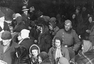 Expulsion of Poles by Nazi Germany - Poles expelled in 1939 from Reichsgau Wartheland.