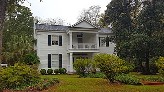 National Register of Historic Places listings in Newberry County, South Carolina - Image: Burton House, Newberry, SC