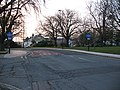 Bus lane, Commercial Road - geograph.org.uk - 1714718.jpg