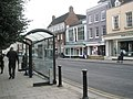 Bus shelter in Windsor High Street - geograph.org.uk - 1168697.jpg