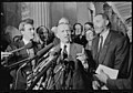 Businessman Ross Perot with Republican freshmen Congress members speaking at a press conference in the U.S. Capitol.jpg
