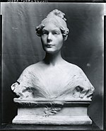 Bust of Adeline Pond Adams by Herbert Adams in 1889.jpg