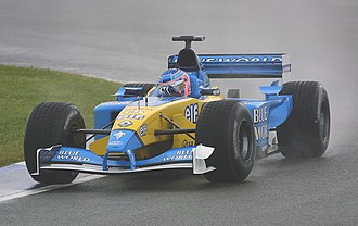 Jenson Button - Button at the 2002 British Grand Prix