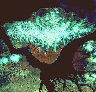 Byam Martin Mountains - Image: Bylot Island