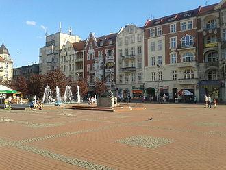 Bytom market square - Bytom market square