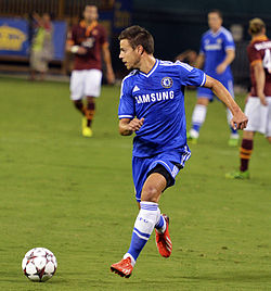 César Azpilicueta Chelsea vs AS-Roma 10AUG2013.jpg
