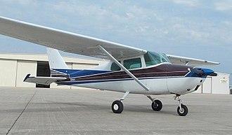 Cessna 172 - A 1960 Cessna 172A