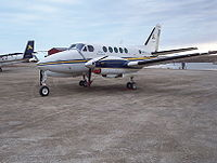 C-GSYN Adlair Aviation Ltd Beechcraft King Air 100 (BE10) 03.JPG