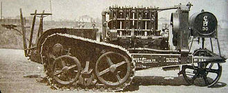 C. L. Best - Working model of the C.L. Best autotractor.