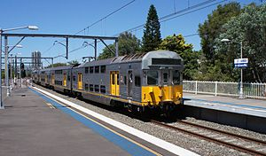 Sydney Trains - S set. Constructed between 1972-1980 and still in heavy use today.