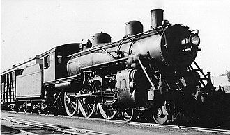 Commonwealth Railways CA class - CA79 at Port Augusta, c. 1945