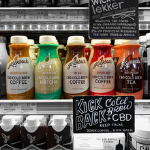 cbd-infused cold brew coffee and tea from kickback cold brew