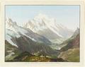 CH-NB - Balme, Col de, und Tal von Chamonix mit Mont Blanc, von Nordosten - Collection Gugelmann - GS-GUGE-LINCK-B-11.tif