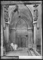 CH-NB - Lausanne, Cathédrale protestante Notre-Dame, Narthex, vue partielle intérieure - Collection Max van Berchem - EAD-7290.tif
