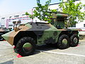 CM-31 Anti-Aircraft Missiles Launcher Prototype Left Front View 20121013a.jpg