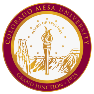 Colorado Mesa University Public university in Grand Junction, Colorado